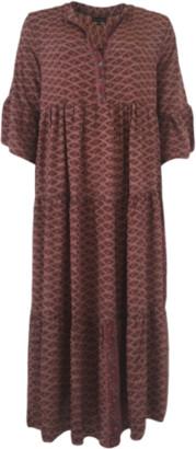 Black Colour - Oriental Blush Luna Boho Dress Blush - S/M