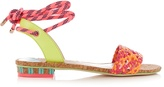 Sophia Webster Nia woven-leather sandals