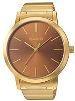Casio Collection – Unisex Analogue Watch with Stainless Steel Bracelet – LTP-E118G-7AEF
