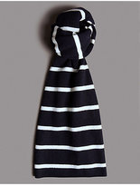 Autograph Pure Cashmere Striped Scarf