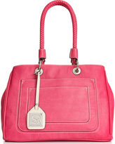 Sondra Roberts Handbag, Tumbled Satchel