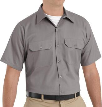 Red Kap Men's Utility Uniform Shirt