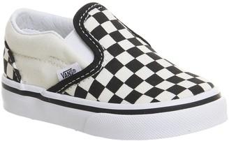 Vans Classic Slip On Toddlers Black White Checkboard