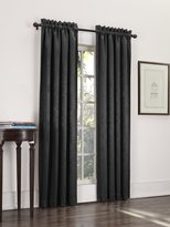 Sun Zero Cadence Velvet Textured Woven out Curtain Panel, 52 by 84-Inch