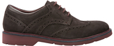 Geox Garret Suede Oxford Brogues, Mud