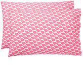 Cape Cod Extra Pillowcases, Set of 2, Bright Pink