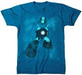 Freeze Mega Man Shooting Heather T-shirt (2X-Large)