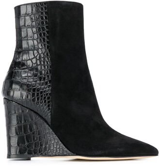 Giuseppe Zanotti Kristen wedge boots
