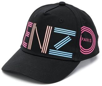 Kenzo Logo-Print Cap