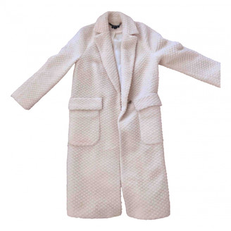 Whistles White Wool Coats