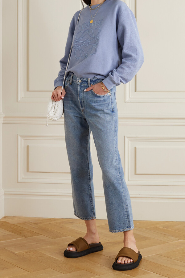Thumbnail for your product : Citizens of Humanity Emery High-rise Straight-leg Jeans - Blue
