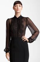 Dolce & Gabbana Sheer Chiffon Blouse