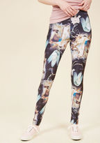 Hell Bunny Eclectic Artistry Leggings in S - by Hell Bunny from ModCloth