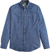 Joules Welford Oxford Check Classic Fit Shirt, Indigo