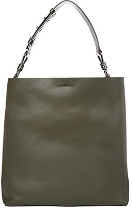AllSaints Captain North/South Tote (Khaki Green) Bags