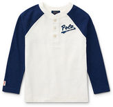 Ralph Lauren Childrenswear Boys Cotton Jersey Baseball Henley
