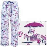 The Cat's Pajamas La Parisienne Women's Cotton Pajama Pant