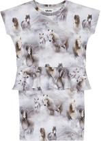 Molo Christina horse print cotton dress 3-12 years