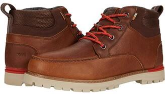 Toms Hawthorne 2.0 (Peanut Waterproof Leather) Men's Shoes