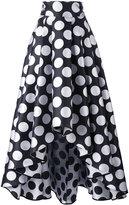 Ultràchic - polka dot maxi skirt - women - Silk/Polyester - 42