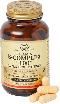 "Solgar Vitamin BComplex ""100"" Extra High PotencyVegetable Capsules"