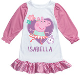 Peppa Pig Pink Personalized Nightgown - Girls
