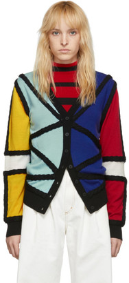 Charles Jeffrey Loverboy Black Lord Of The Flies Cardigan