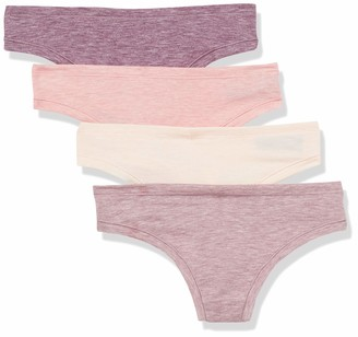 Amazon Essentials Breathable Light-weight Thong Panty Underwear