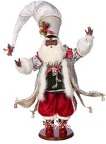 Mark Roberts Candy Shop Genuine Mink Fur Santa