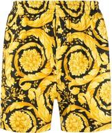 Versace Barocco-print pyjama shorts