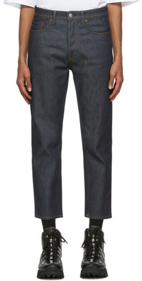 Acne Studios Indigo Slim Tapered-Fit Jeans