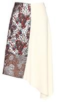 Stella McCartney Jacquard And Crepe Skirt