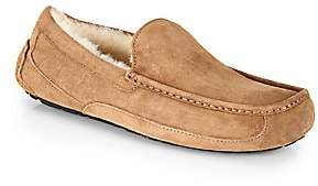 UGG Men's Men's Ascot Suede and Shearling Moccasins
