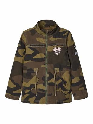 Name It Girl's Nkfmelsa Camo Jacket