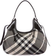 Burberry Beat Check Shoulder Bag