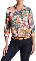 Spense 3/4 Length Sleeve Collared Shirt