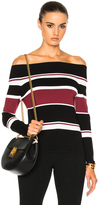 Veronica Beard Audrey Off the Shoulder Sweater