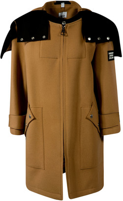 Burberry Sleeve Patch Logo Zip Jacket