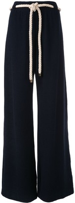 Monse Terry wide-leg trousers
