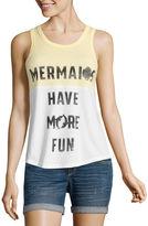 Hybrid Tees Mermaids have more fun Tank Top-Junior