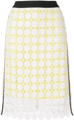 Karl Lagerfeld Paris lace skirt