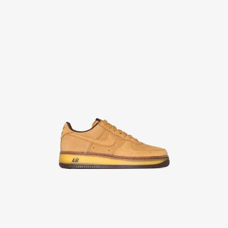 Nike yellow Air Force 1 low retro SP sneakers