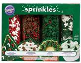 Wilton Holiday Specialty Mega Sprinkles (Set of 4)