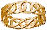Celtic 14k Gold Over Silver Openwork Knot Wedding Band
