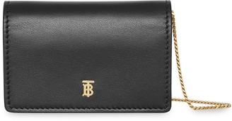 Burberry Detachable Strap Card Case