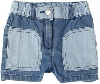 Stella Mccartney Kids Stretch Denim Shorts