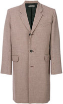 Paul & Joe checked tweed coat