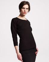 Jil Sander Techno-Jersey Sweatshirt