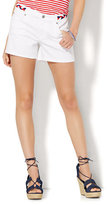 "New York & Co. Soho Jeans Bowery 4"" Short - Optic White"