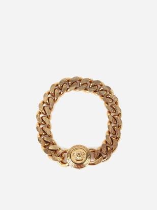 Versace Medusa Gold Chained Brass Bracelet